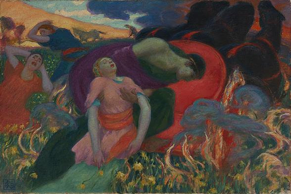 Rupert_Bunny_-_The_Rape_of_Persephone,_1913