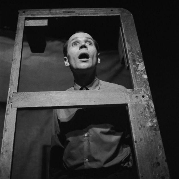 Luty 1962. Miron Bia³oszewski w spektaklu Kordian w Teatrze Osobnym