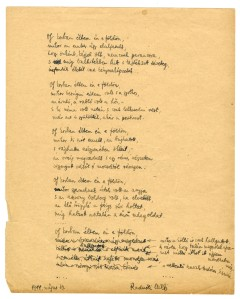 "The manuscript of ""Fragments"""