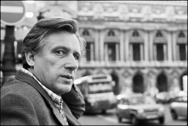Yuri Mamleev, russian writer.Paris, 1994.