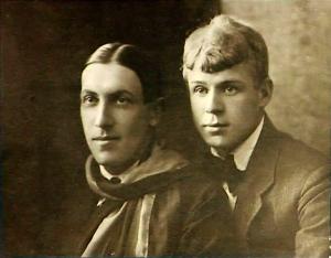 Anatoly Mariengof and Sergei Yesenin